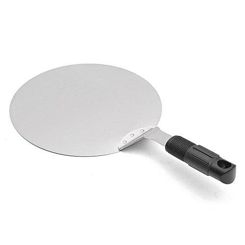 Stainless Steel Pizza Lifter Flipper BBQ Stone Oven Paddle Spatula Peel Tray Pan