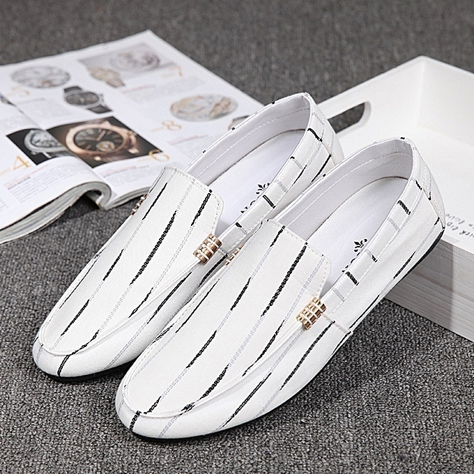 4f5bdf75d61818 Fashion Casual Men's Canvas Loafers Comfort Golf Shoes | Jumia NG