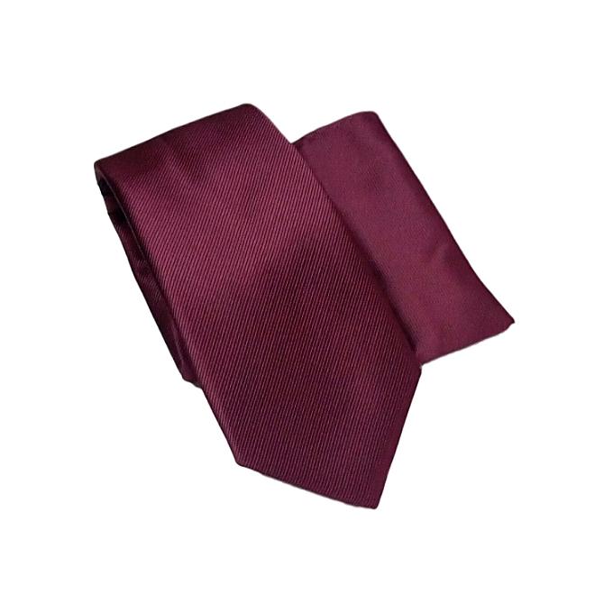 792d1efa41565 Slim Plain Mens Solid Neck Party Wedding Tie Necktie-Burgundy Color