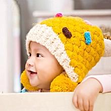 252b7b8d73a53a 351492729437 Baby Girl Toddler Cute Knit Beanie Hat Cap Lovely Winter Warm  Headband Gift IDE