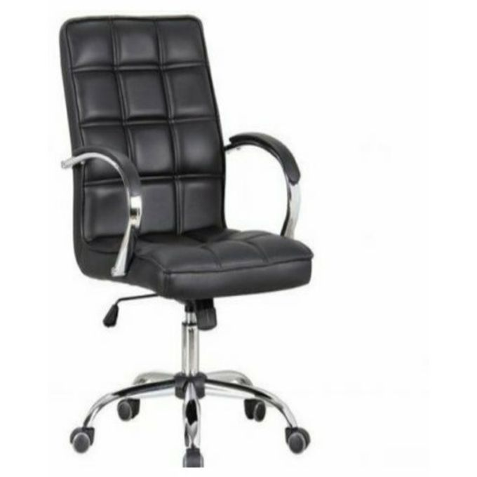 Universal black leather office chair swivel delivered only in lagos buy online jumia nigeria - Jumia office address in lagos ...