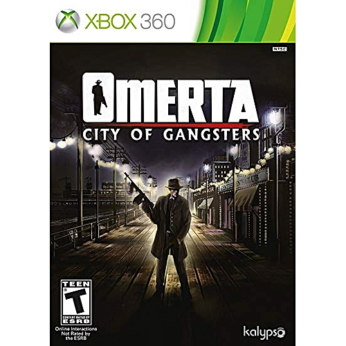 Omerta – City Of Gangsters - XBOX360