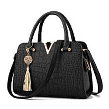 be431afa169 Marvelous Ladies Handbag (Leather) - Black