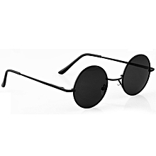 e7cc3840b4 New Fashion Unisex Vintage Style Frame Lens Retro Round Sunglasses Retro  Eyeglasses Glasses-Black