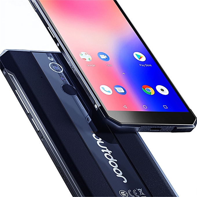 buy online 56db6 fd524 Ioutdoor X IP68 Waterproof Mobile Phone 6GB+128GB Android 8.1 5.7inch  3400mAh Face ID 16+8MP Dual-Rear-Cam 4G-LTE Smartphone - Black