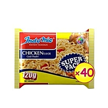 Super Pack Chicken Flavour - 120g X 40 Packs