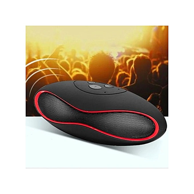 Portable Wireless Bluetooth Speaker With FM Radio And SD Card Slot