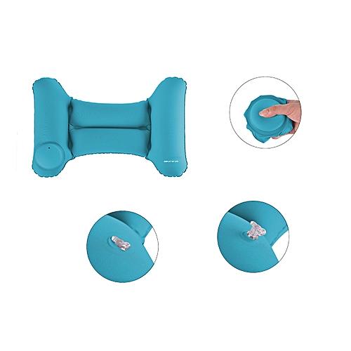 Hand Press Inflatable Travel Waist Stylish Pillow