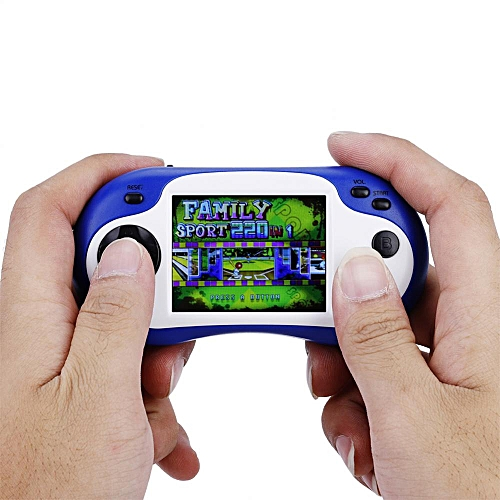 Portable 16-bit Handheld Game Console Recreational Machines Video Game Player