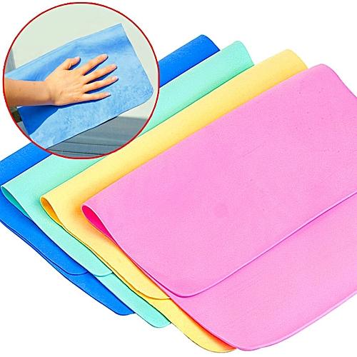 Multifunctional Deerskin Towel Dry Hair Absorbent Hand Towels Soft Car Wash Cleaning Towel 20 X 30cm