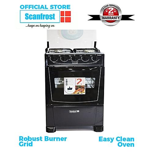 4-Burner Gas Cooker CK-5400 NG - Black