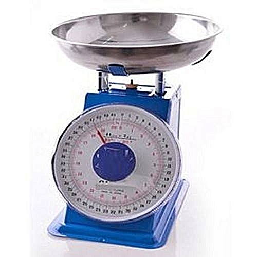 Table Top Kitchen Scale - 20kg Blue