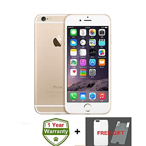 IPhone 6 4.7 Inch 1GB + 16GB 8MP + 1.2MP Finger Sensor 4G LTE Smartphone (Gift) – Gold