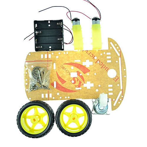 Motor Smart Robot Car Chassis Kit Speed Encoder Battery Box 2WD For Arduino