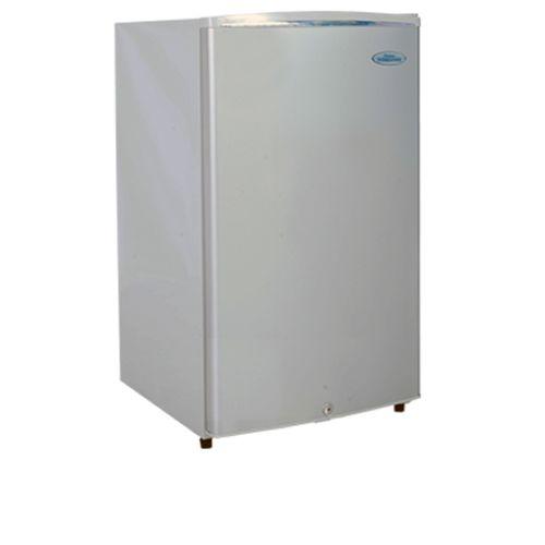 haier mini refrigerator. 125l single door small refrigerator hr-137 - silver. haier thermocool mini