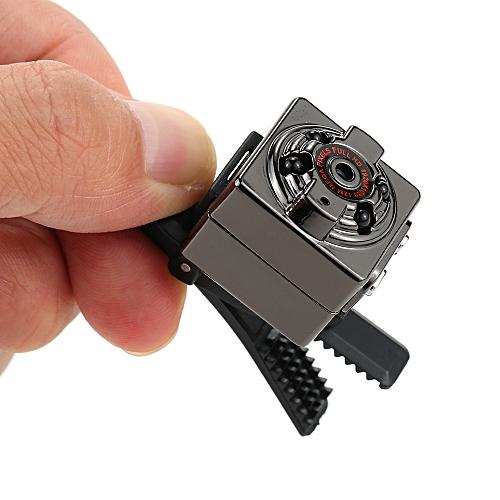 Portable HD 1080P Mini DV Concealed Monitor Camera Video TF Card Camcorder Night Vision Nanny Cam