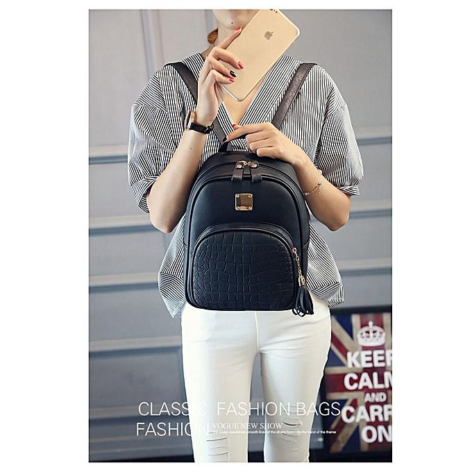 bde652ce154b Fashion Women Backpacks Girl School Bag High Quality Ladies Bags BK ...