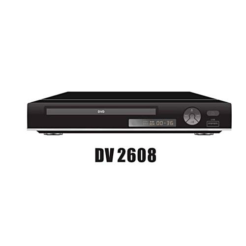 Niko DVD Player DV2608 With USB-Black