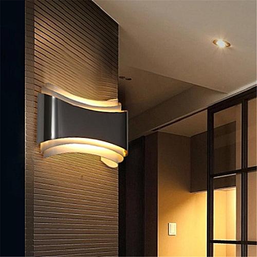 Modern Acrylic 6W LED Wall Lights Sconce Aisle/Porch Lights Wall Lamp 1365HC Warm Light