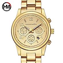 4ca5751d77c HMTOP Rose Gold Fashion New Relogio Feminino Elegant Casual Top Brand Luxury  Quartz Ladies Dress Watch