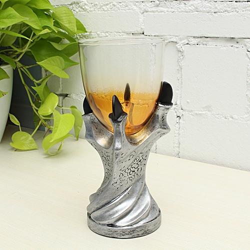 Game Of Thrones Dragon Glass Holder Wine Goblet Replica Gothic Decor Glass