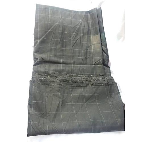 Men's Fabric (South South Materials) 100% Cotton (Black Stripe)