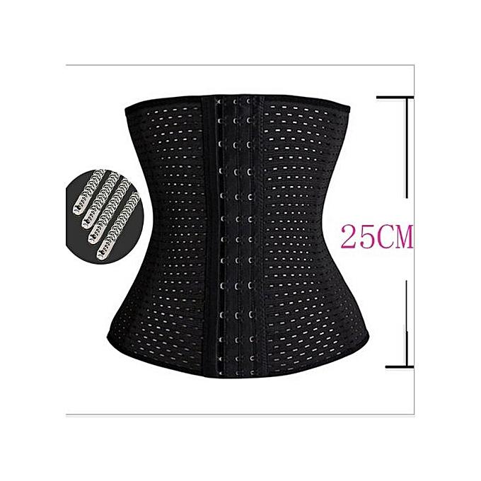 666760f0f5b Fashion Waist Trainer Body Shaper - Black