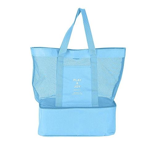 Shanyu Double Layer Thermal Insulation Picnic Bag Food Storage Handbag For Travel Camping