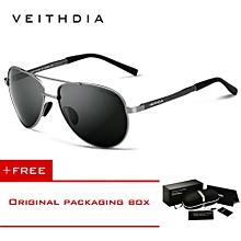 fb30ff937b VEITHDIA Men  039 s Sunglasses Brand Designer Pilot Polarized Male Sun  Glasses Eyeglasses For