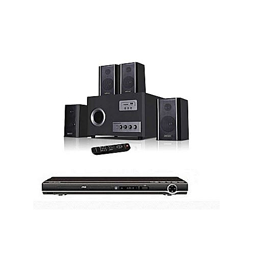 Home Theater System And DVD Player Attached Hf-8800/4.1