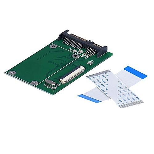 Fenhehu 40 Pin ZIF/ CE 1.8 Inch SSD/HDD To SATA Male Adapter Converter Board