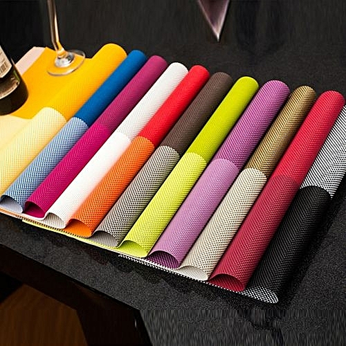 4PIECES Kitchen Heat Insulation Table Mat + 1 Piece Free Colorful Chopping Board