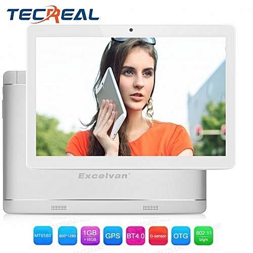 "QT - 10.1"" 3G Tablet Dual SIM 1GB/16GB OTG G-Sensor EU - Silver"