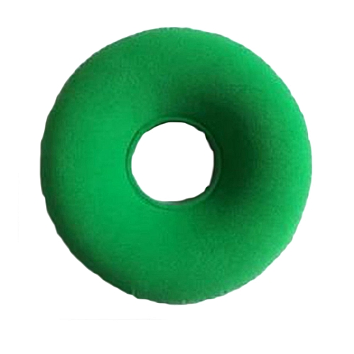 Shinewerop Inflatable Ring Cushion Donut Pillow Vinyl Round Rubber Seat Medical Hemorrhoid Green Color