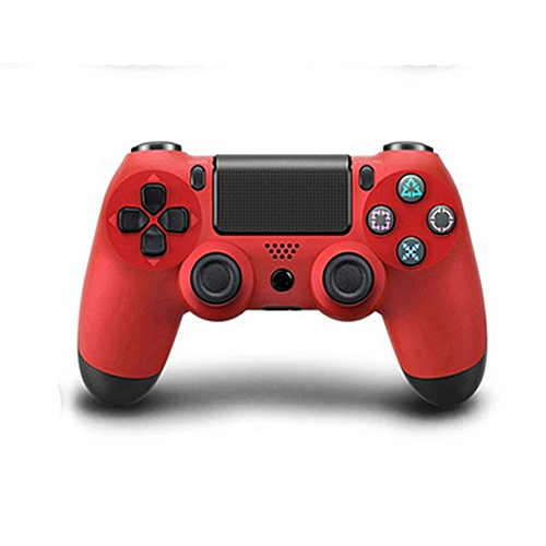 Wireless Bluetooth Game Controller Gamepad For Sony PS4 Color:Red