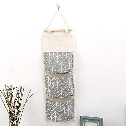 Wall Door Hanging Storage Bag Organizer Wardrobe Closet ?3 Pockets?