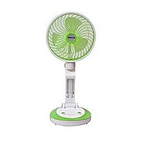 Speedlite Rechargeable Folding Fan With USB And Led Light