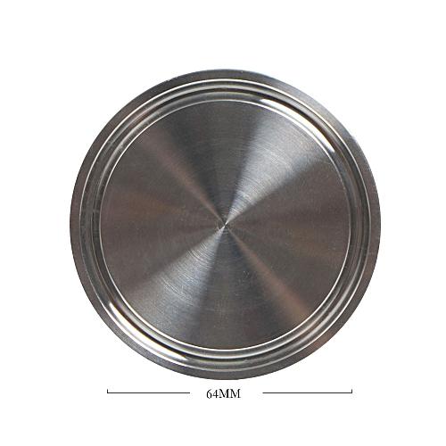 Lienine_Sanitary End Cap Fits Tri-Clamp Ferrule Flange Stainless Steel