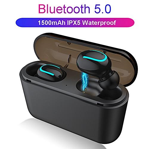 Bluetooth Wireless Earphone Handsfree Headphone Sports Earbuds Gaming Headset Phone