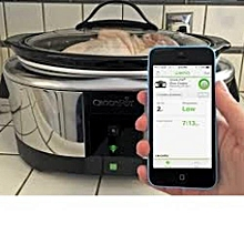WiFi Enabled 6-Quart Slow Cooker, Stainless Steel, SCW3000S
