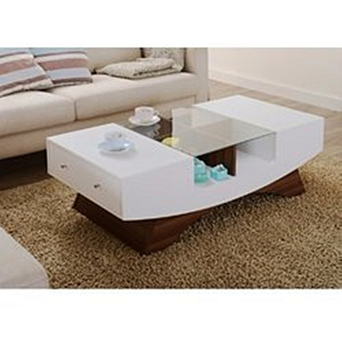 White And Black Royal MGR Coffee Centre Table (Delivery Within Lagos Only)