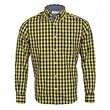 93ebd1ae5d055 Men  039 s Drafts Classic-Fit Long-Sleeve Shirt - Yellow