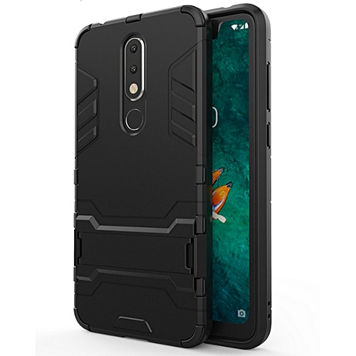 NOKIA X5 Case, Iron Man Armor Protective Case, PC+TPU Double Combination