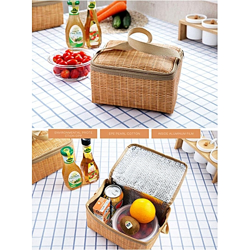 New Lunch Bag Food Picnic Bags For Women Children Cooler Bag Refrigerator Thermo Bag Thermal Waterproof Portable Insulated