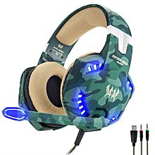 Gaming Headset With Mic LED For Xbox One, PS4, Nintendo Switch -