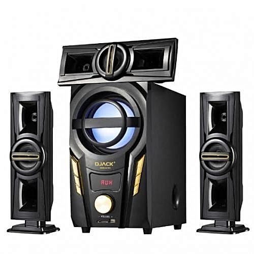Powerful 3.1 Channel Bluetooth Home Theatre System - DJ-703A