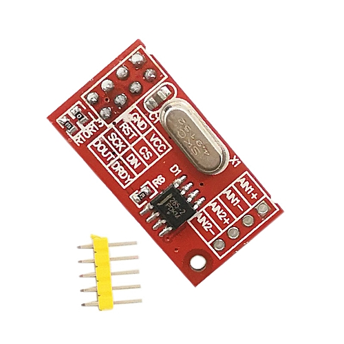 10psc AD7705 Data Acquisition Module 16 Bit Dual Channel ADC Module PGA SPI Interface Chip TM7705 With Analog Input Buffer AD003