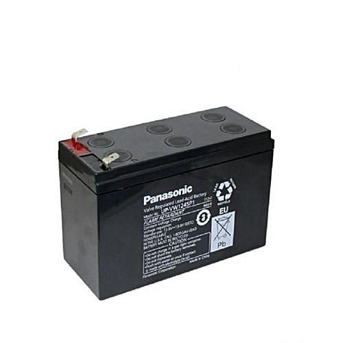 Panasonic UPS Rechargeable Battery- Black