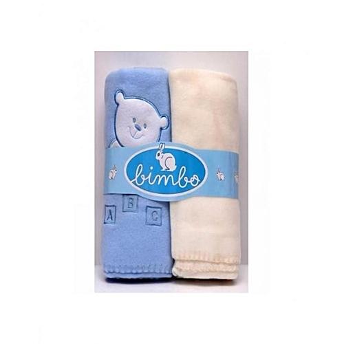 Bimbo 2 In 1 Pack Baby Blanket