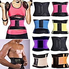 9c66c4ca732d9 Waist Trainer Power Belt Fitness Body Shaper Adjustable Waist Support  Breathable